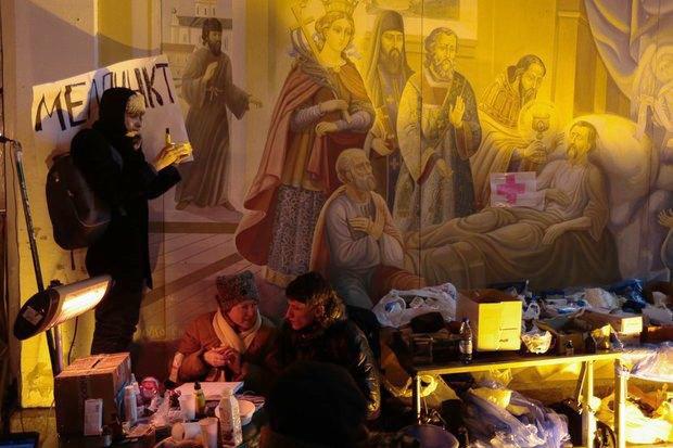 Работа со вспышкой: Фотографы — о съёмке на «Евромайдане». Изображение № 9.