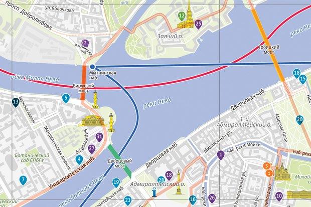 Для туристов разработали новую карту города. Изображение № 1.