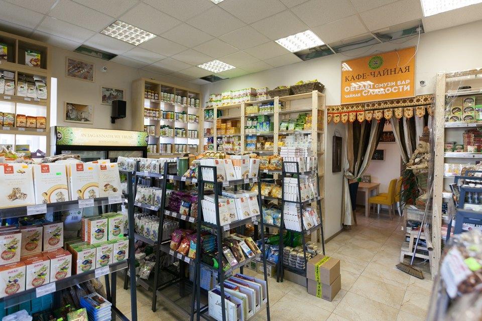 Магазин вегетарианских товаров и кафе «Джаганнат» на Фонтанке. Изображение № 2.