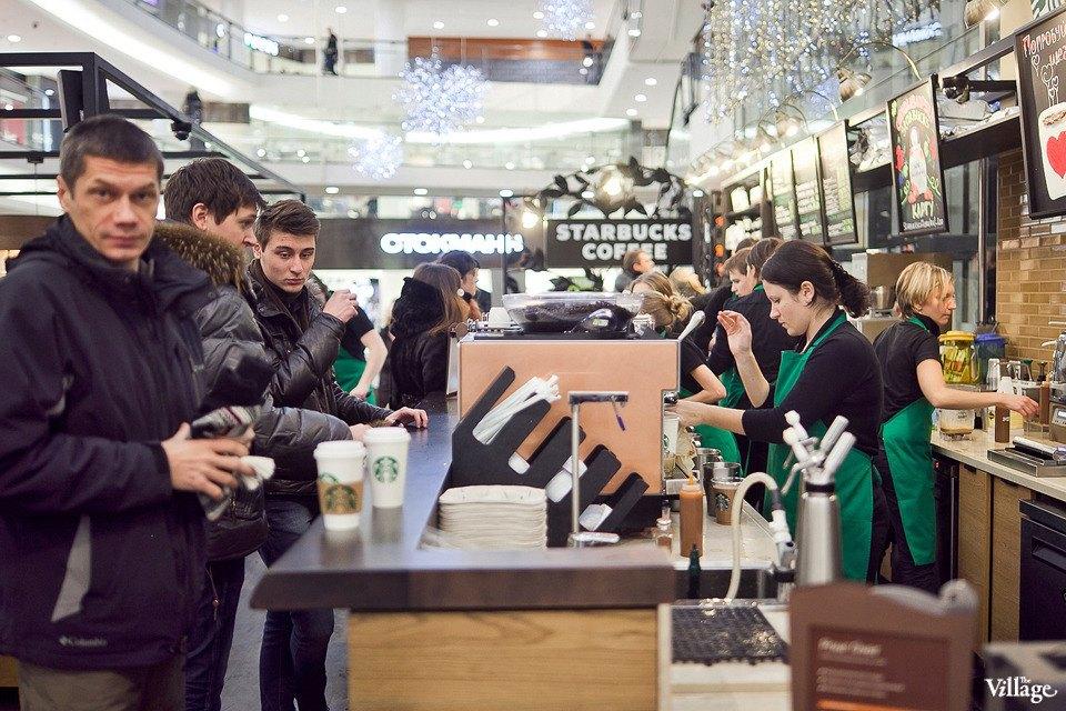 Люди в городе: Первые посетители Starbucks вСтокманне. Изображение № 12.