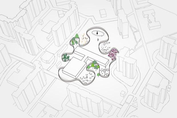 Предложение: сделать заборы школьных площадок более интересными. Изображение № 58.