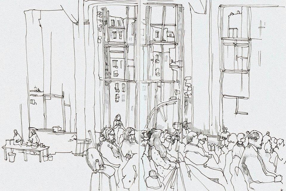 Клуб рисовальщиков: Лекция Линор Горалик. Изображение № 14.