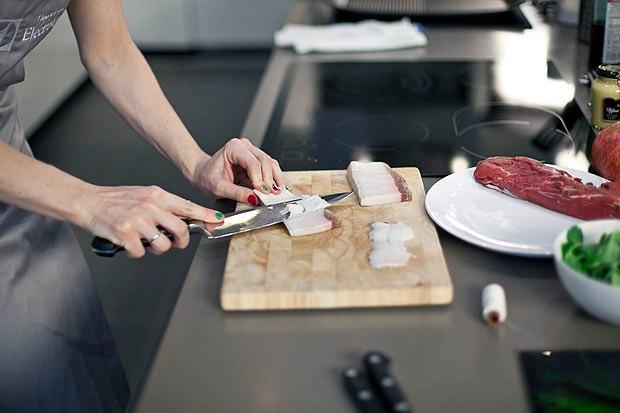 Шеф дома: Ростбиф-салат и тыквенная каша Мириам Сехон. Изображение № 23.