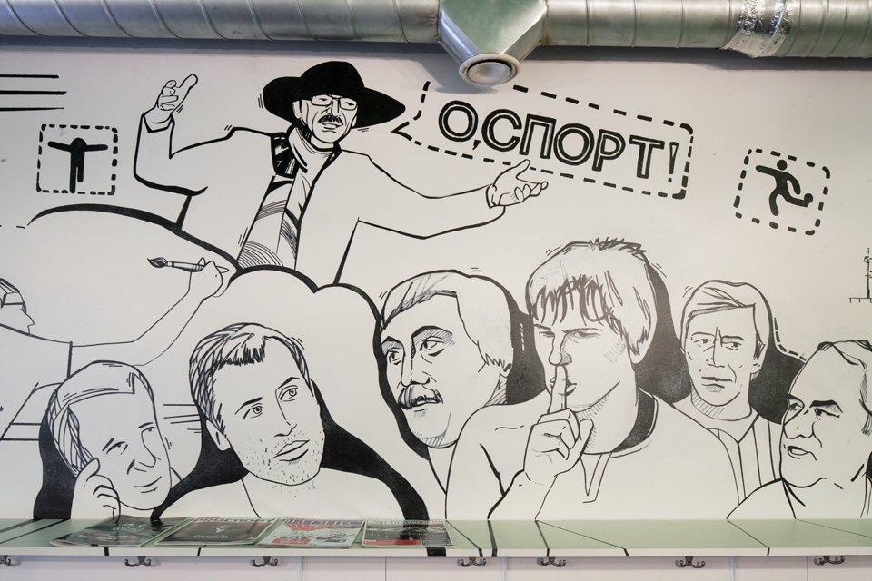 Рюмочная «О, спорт!» наБольшой Пушкарской . Изображение № 5.