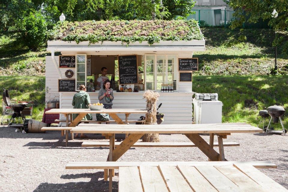 Еда в парке Горького: 33кафе, ресторана икиоска. Изображение № 31.