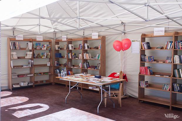 В ЦПКиО открылась летняя библиотека на воздухе. Изображение № 2.