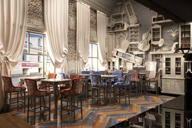 Krispy Kreme наНеглинной, бар Beer&Brut наПокровке, сербский ресторан «Субботица». Изображение № 3.