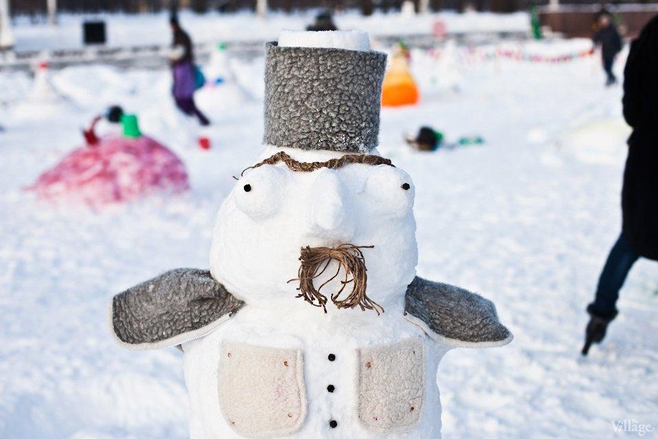 Люди в городе: «Арт-битва снеговиков». Изображение № 17.