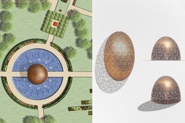 Проект павильона в аквазоне. Изображение № 2.