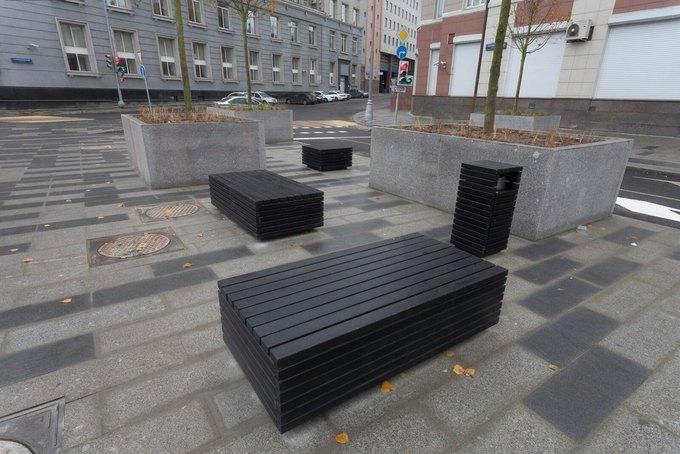 На Неглинной улице появились сквер и велодорожка . Изображение № 4.