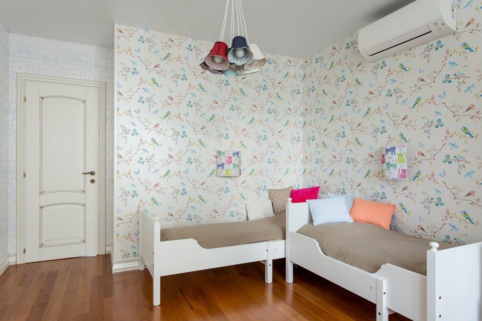 Большая квартира для семьи на«Нагатинской» с кабинетом илимонной ванной. Изображение № 11.