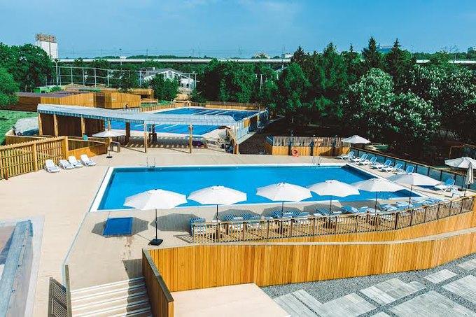 В «Лужниках» откроется зона отдыха сдвумя бассейнами. Изображение № 3.