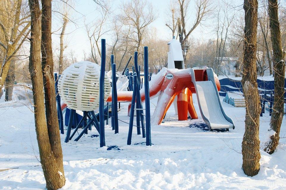 Фоторепортаж: Детская площадка Monstrum впарке Горького. Изображение № 26.
