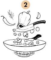 Рецепты шефов: Ножка кролика, тушеная с грибами. Изображение № 8.