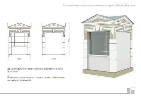Изображение 7. В Москве представлен проект типовых торговых палаток.. Изображение № 8.