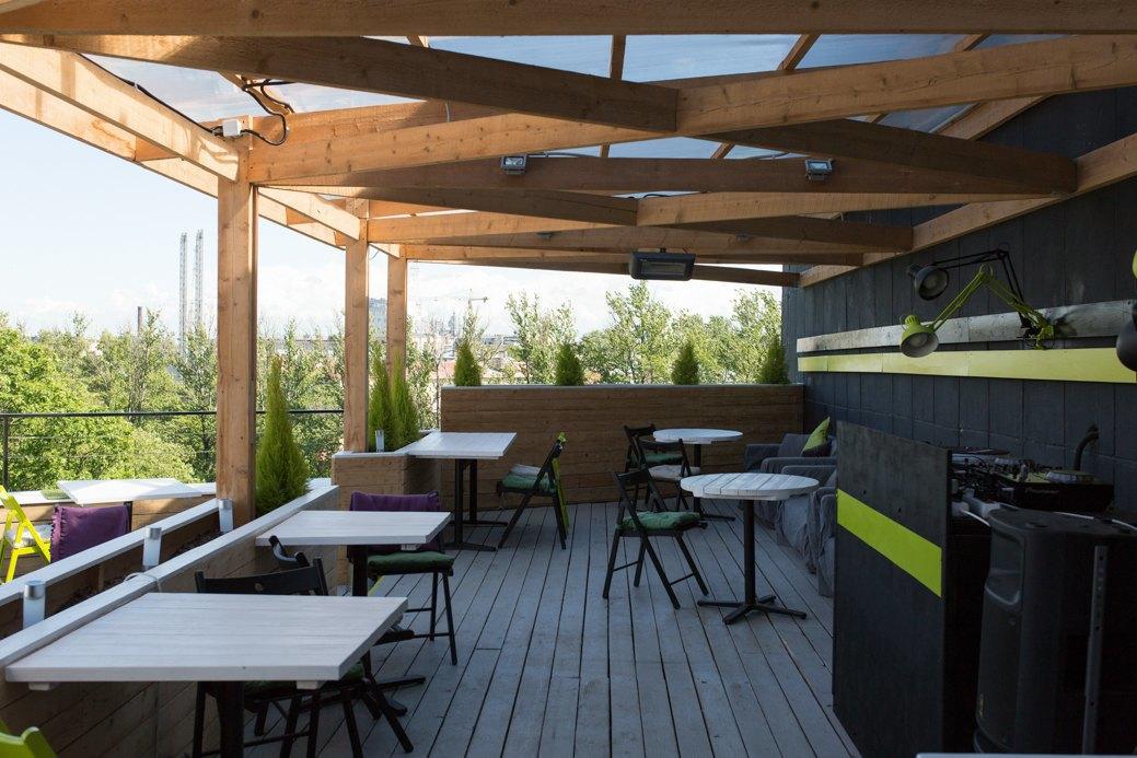 Botanique Bar на крыше «Ленполиграфмаша». Изображение № 11.