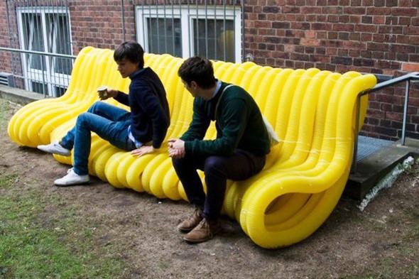 Идеи для города: Мебель из труб в Гамбурге. Изображение № 8.
