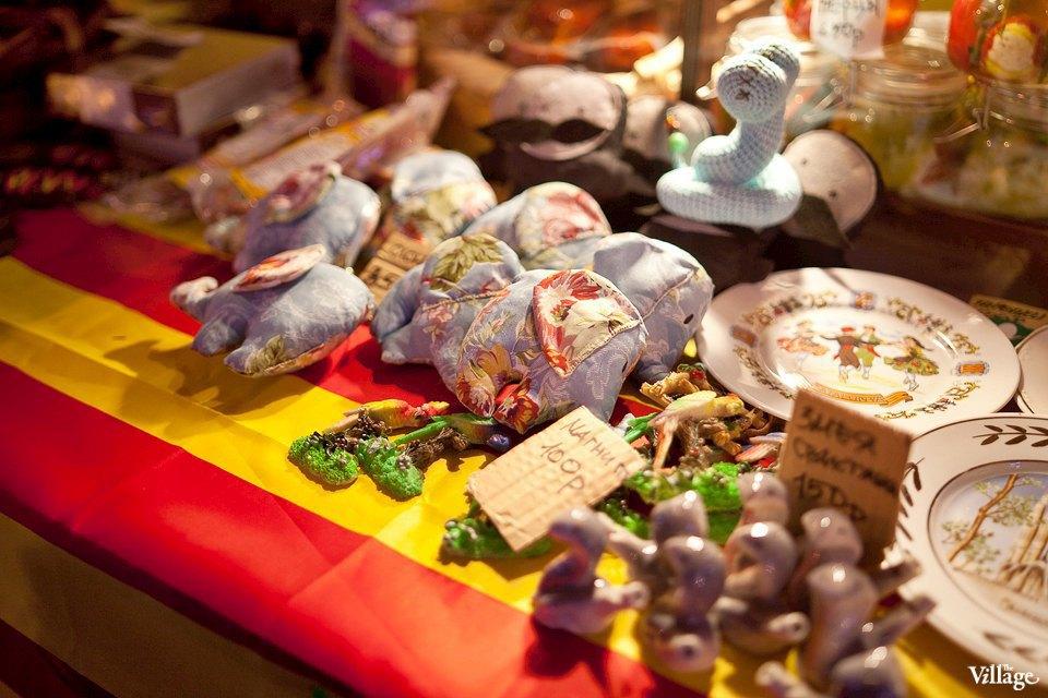Люди в городе: Продавцы рождественской ярмарки на Островского. Изображение № 32.