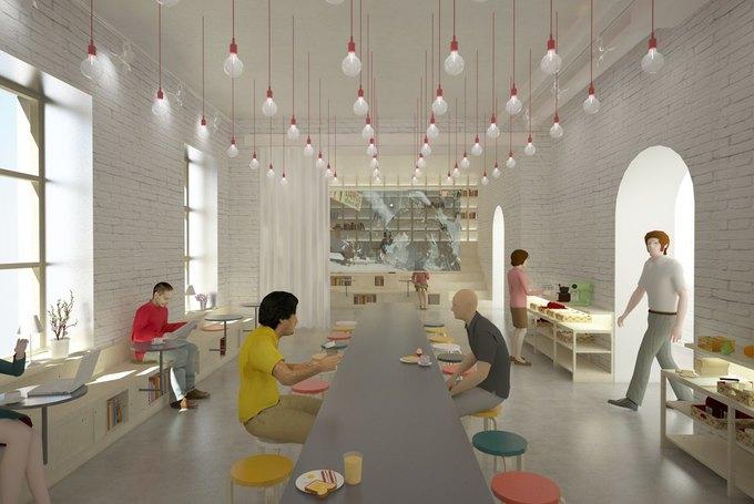 На проспекте Энгельса откроется хостел и центр современного искусства YarkyHostel&Space. Изображение № 7.
