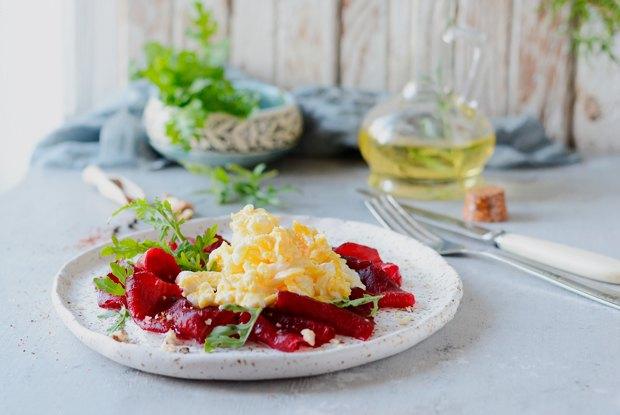 Яйца-скрэмбл на завтрак - рецепт пошаговый с фото