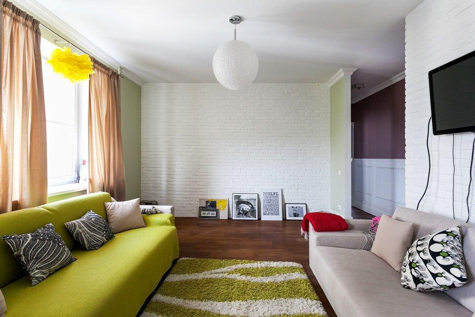 Двухкомнатная квартира с видом на лес. Изображение № 6.