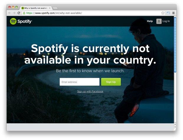 Spotify начал подготовку к запуску в России. Изображение № 1.
