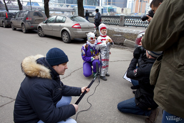 В Москве прошло арт-шествие в честь Дня космонавтики. Изображение № 5.