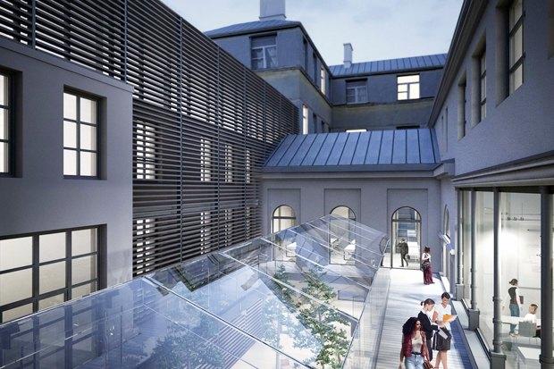 Европейский университет: 4 проекта реконструкции. Изображение № 3.