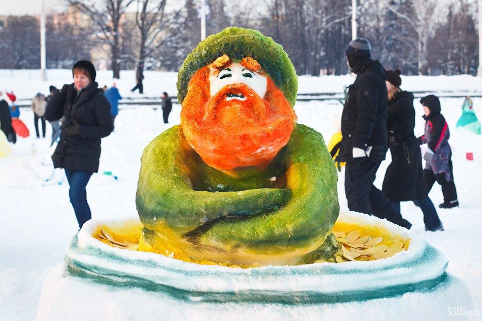 Люди в городе: «Арт-битва снеговиков». Изображение № 30.