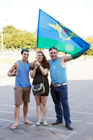 Люди в городе: Как отмечали День ВДВ в парке Горького. Изображение № 39.