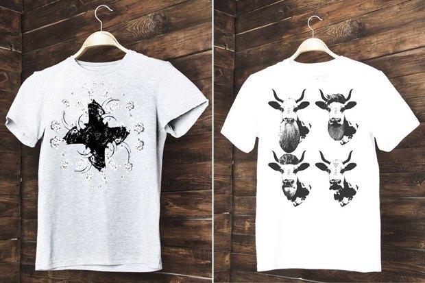 Толстовки и футболки екатеринбургской марки Kh. Изображение № 5.