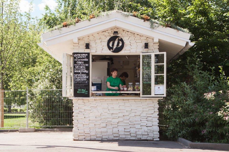 Еда в парке Горького: 33кафе, ресторана икиоска. Изображение № 46.