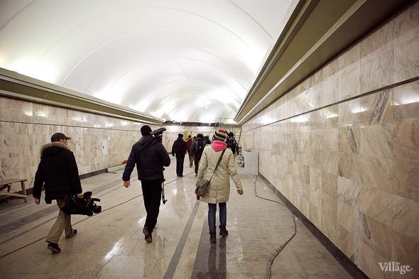Фоторепортаж: Станция метро «Адмиралтейская» изнутри. Изображение № 5.