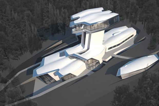 В Барвихе построили дом по проекту Захи Хадид. Изображение № 5.