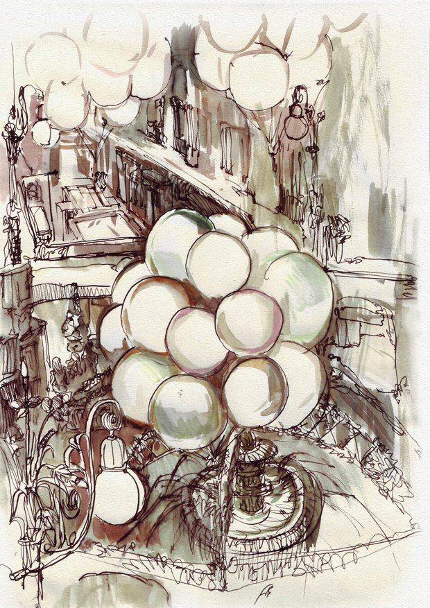 Клуб рисовальщиков: ГУМ. Изображение № 3.