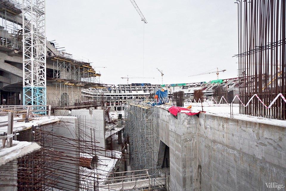 Фоторепортаж: Стадион «Зенит-Арена» изнутри. Изображение № 11.