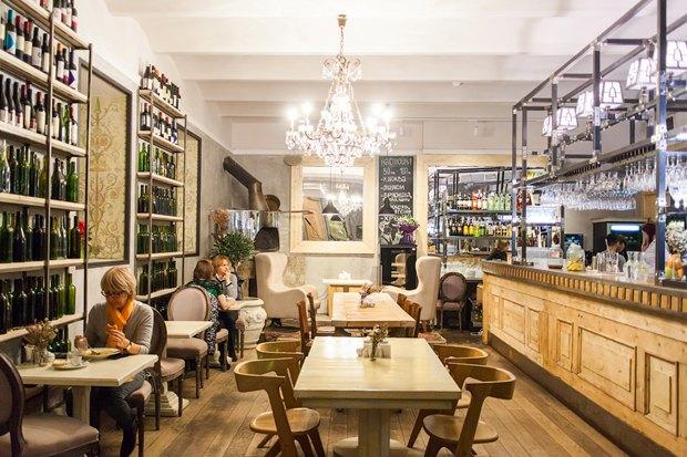 Nude. Coffee&Wine Bar, обновлённый «Дом12», кафе-вагон Foody . Изображение № 2.