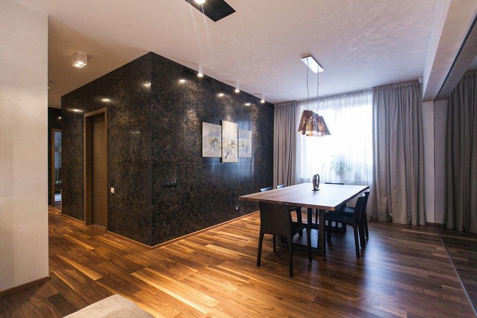 Квартира для семьи  с минималистским интерьером. Изображение № 9.