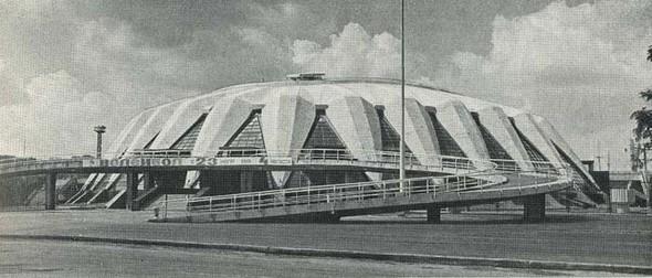 """Спортивный зал """"Дружба"""" на территории """"Лужников"""", 1980-ые годы. Изображение № 9."""
