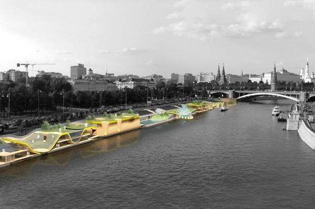 Берега-утопии: Какой могла бы быть Москва-река. Изображение № 6.