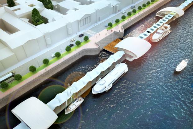 Проект развития района вокруг «Новой Голландии» . Изображение № 6.