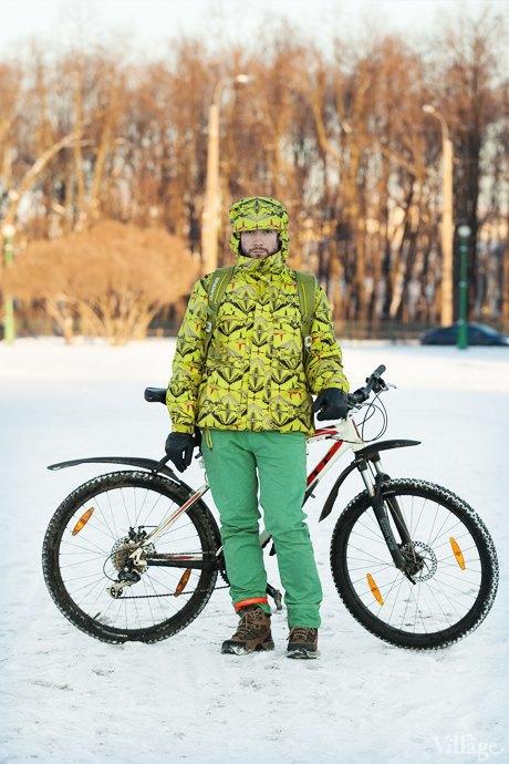 Люди в городе: Кто ездит зимой на велосипеде . Изображение № 4.