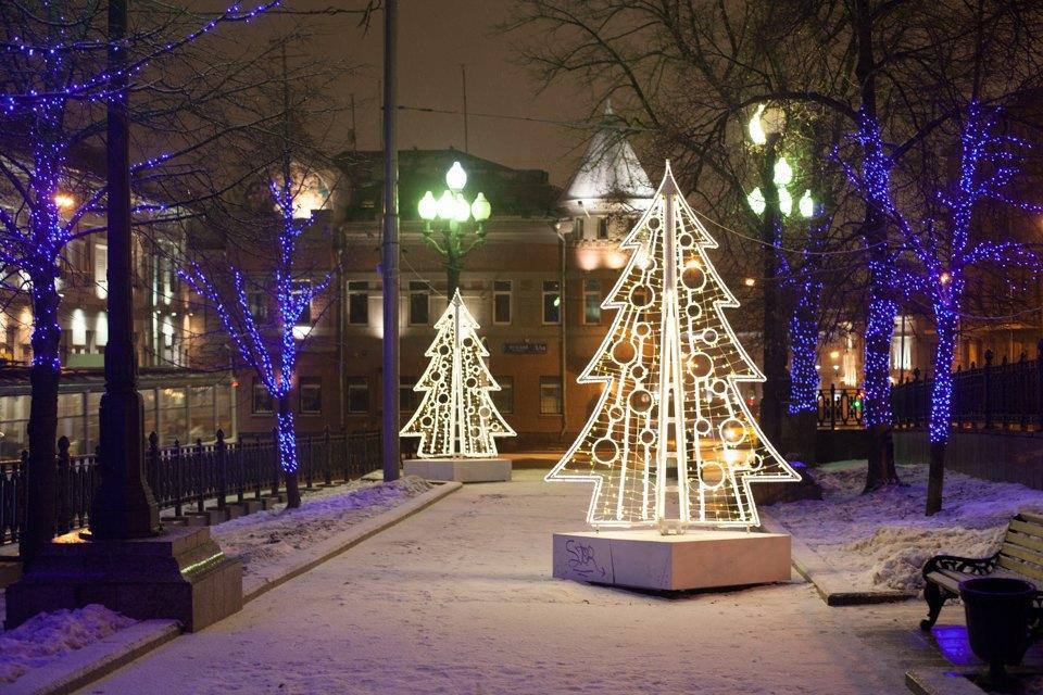 Как украсили Москву кНовому году. Изображение № 30.