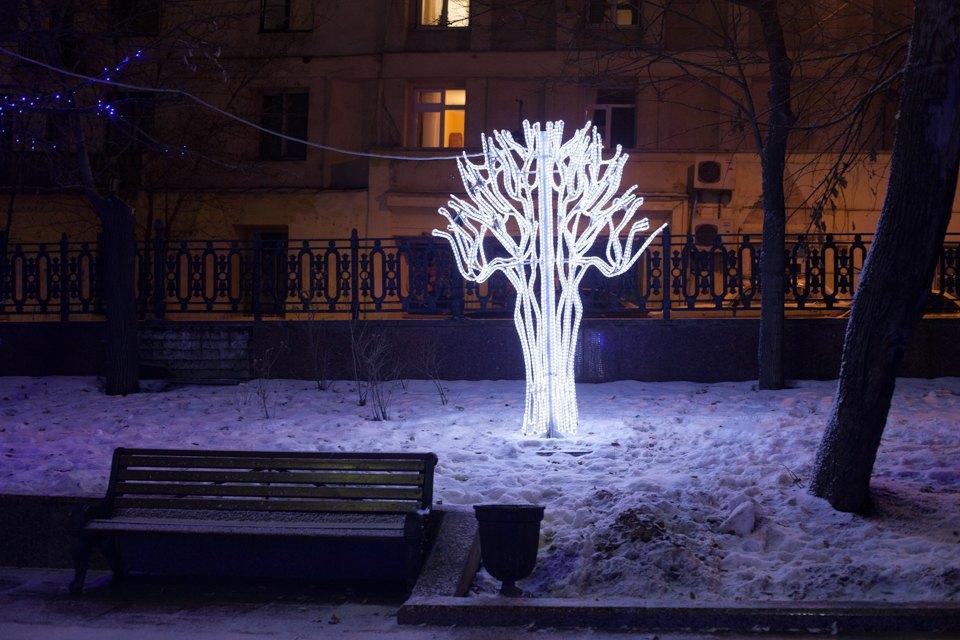 Как украсили Москву кНовому году. Изображение № 28.