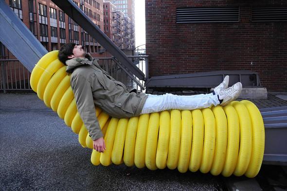 Идеи для города: Мебель из труб в Гамбурге. Изображение № 5.