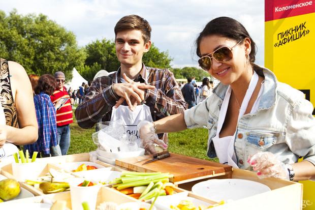 Известный шеф - повар и телеведущий Марк Стаценко провёл кулинарный мастер-класс