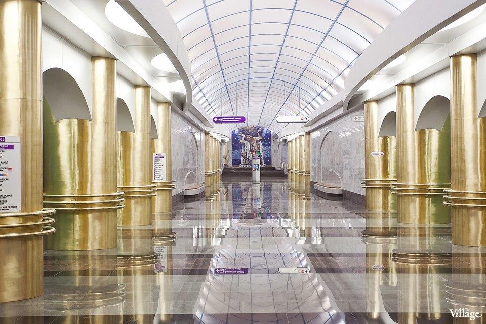 Фоторепортаж: Станции метро «Международная» и«Бухарестская» изнутри. Изображение № 33.
