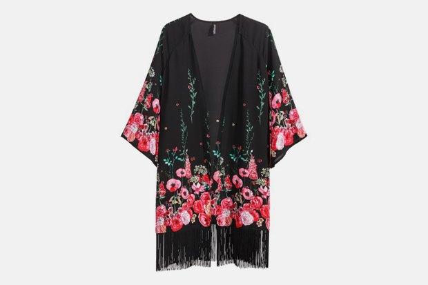 Самое дорогое и самое дешёвое кимоно в магазине H&M. Изображение № 1.