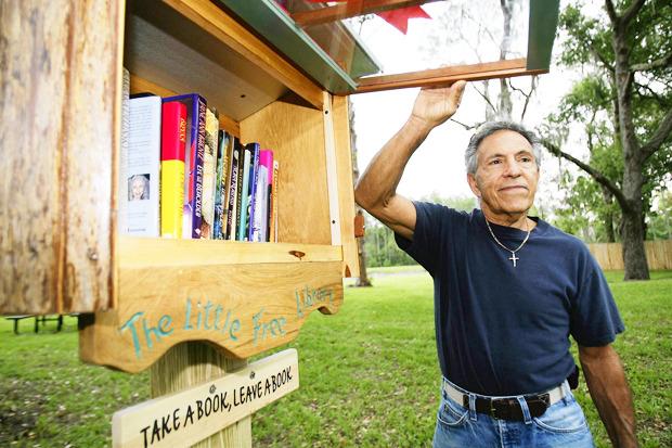 Идеи для города: Публичные библиотеки-скворечники. Изображение № 13.