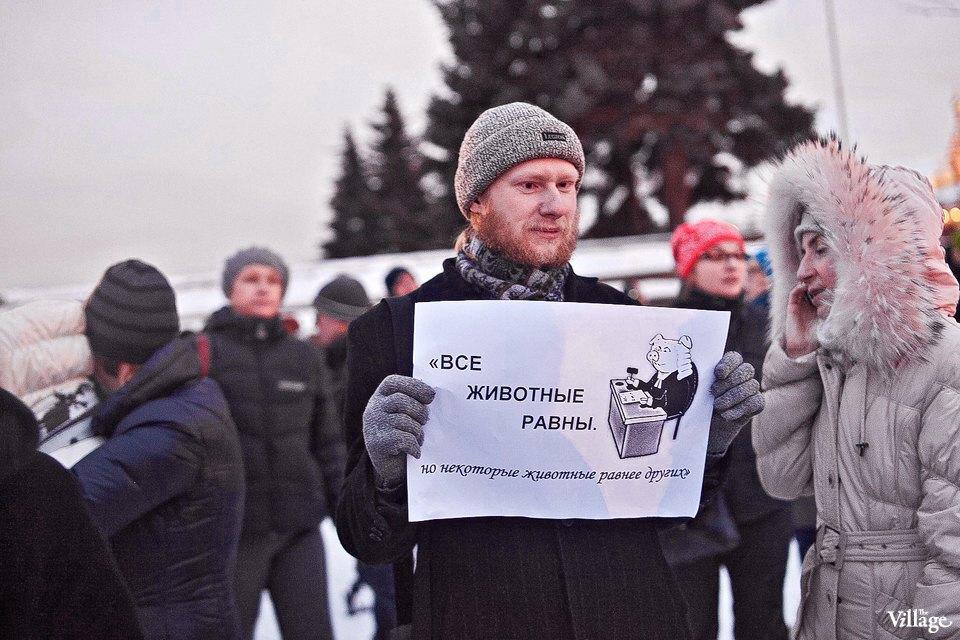Фоторепортаж: митинг взащиту Городской клинической больницы №31. Изображение № 20.